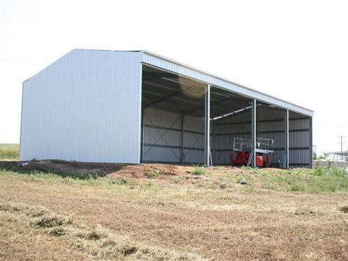 Hay Sheds With Open Front Pacific Building Company